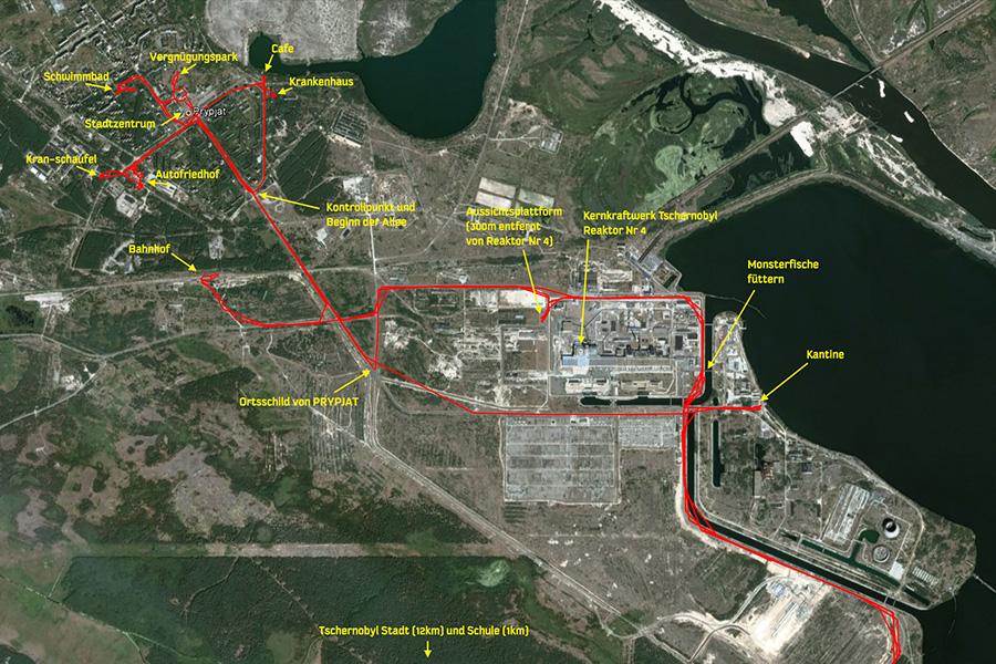 Tschernobyl Karte.Manniac Videos Fotos Und Reise Reise Und Dokumentation Tschernobyl